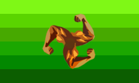 muscle pride flag