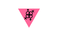 transgendered pride flag - Holland 1991